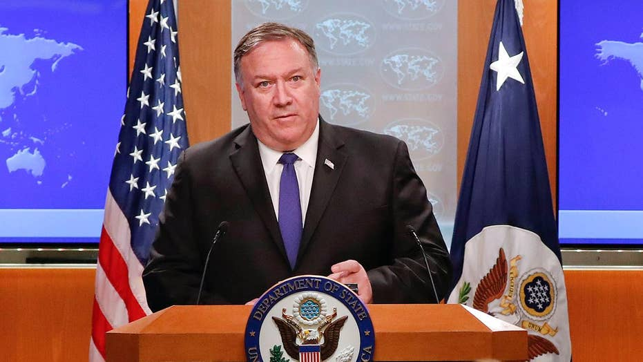 Pompeo says US will keep vigour on Iran though Trump does not wish war