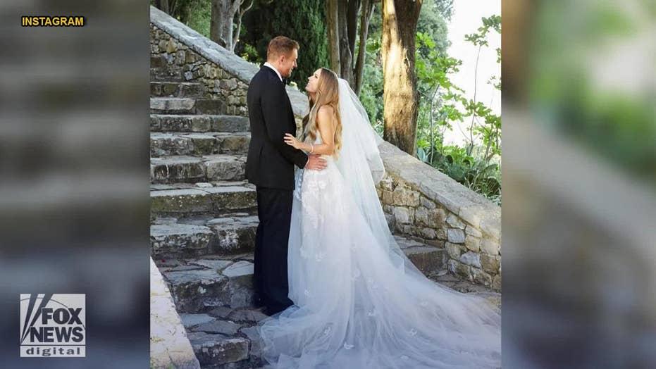 Caroline Wozniacki, husband David Lee enjoy mini-moon after Italy wedding