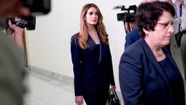 Hope Hicks questioned behind closed doors on Capitol Hill, as pols bicker over interview