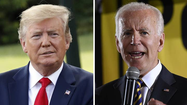Are Trump supporters concerned about Biden's lead in the polls?