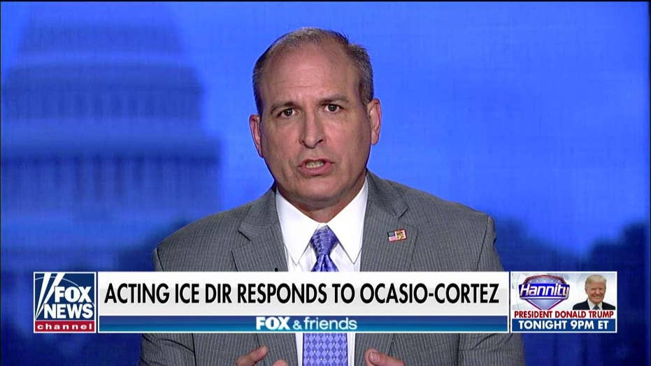 Acting ICE director pushes back against AOC.