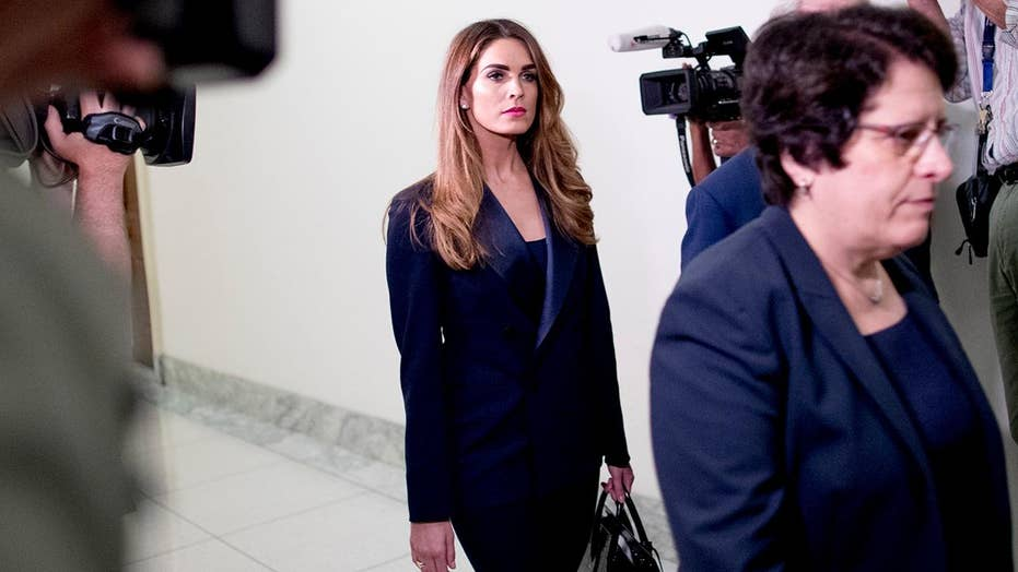 Democrats to press Hope Hicks behind closed doors on Trump obstruction allegations