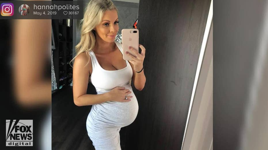 Instagram model criticized for having too large of a baby bump