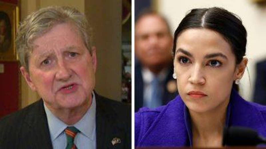 John Kennedy on AOC comments