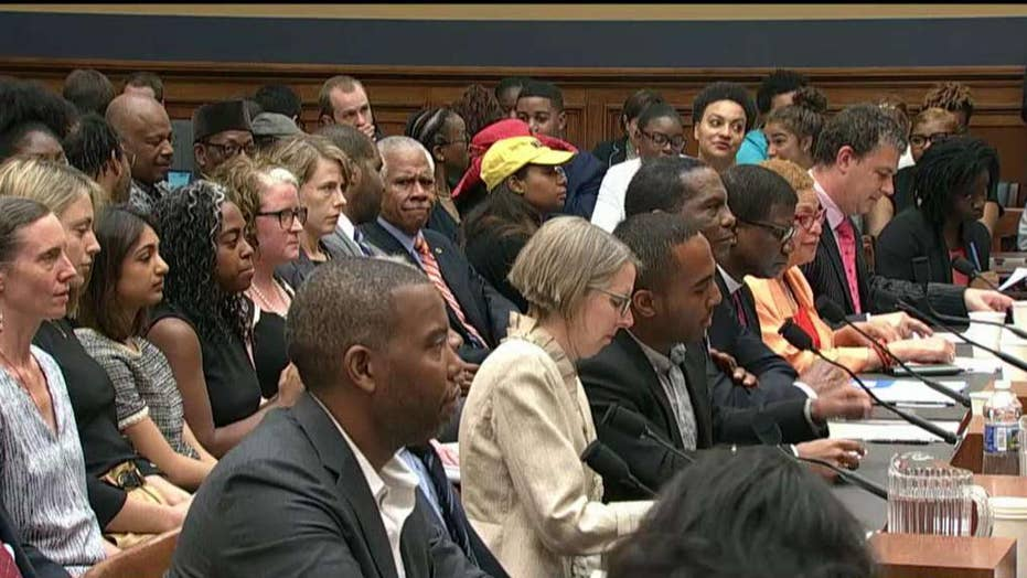 House committee holds historic hearing on slavery reparations