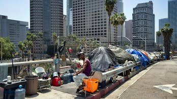 Los Angeles residents petition to recall mayor over homelessness crisis