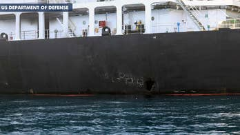 US Navy explosives experts say mines used in tanker attacks bear 'striking resemblance' to Iranian weapons