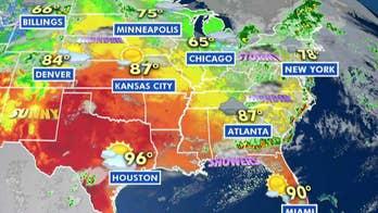National forecast for Thursday, June 20