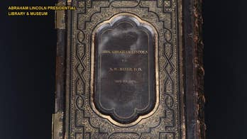 Abraham Lincoln Bible surfaces, offers clues to his religious beliefs