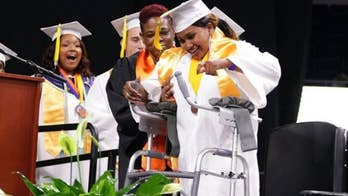 Virginia teen's dream of graduating with classmates comes true after months in coma