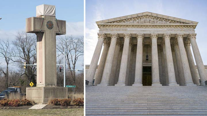 Supreme Court says Peace Cross war memorial can stay