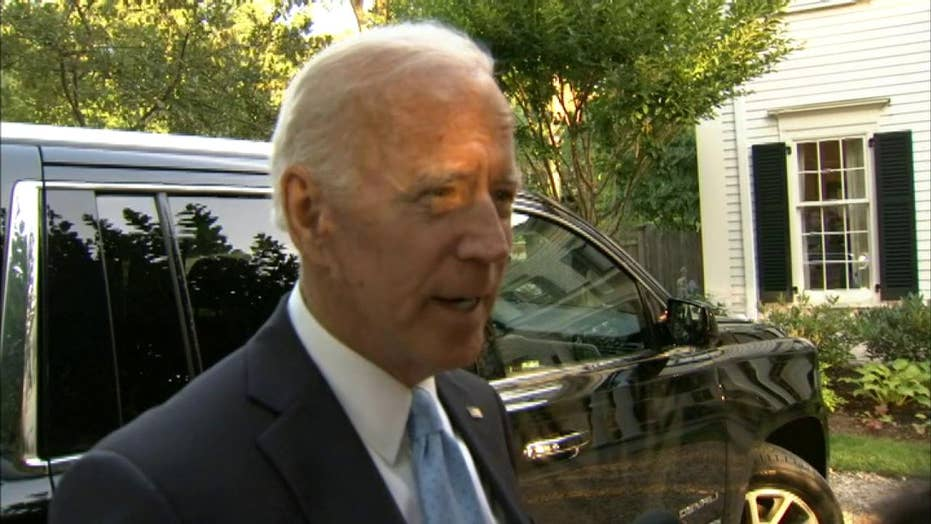 Joe Biden suggests Cory Booker owes him an apology