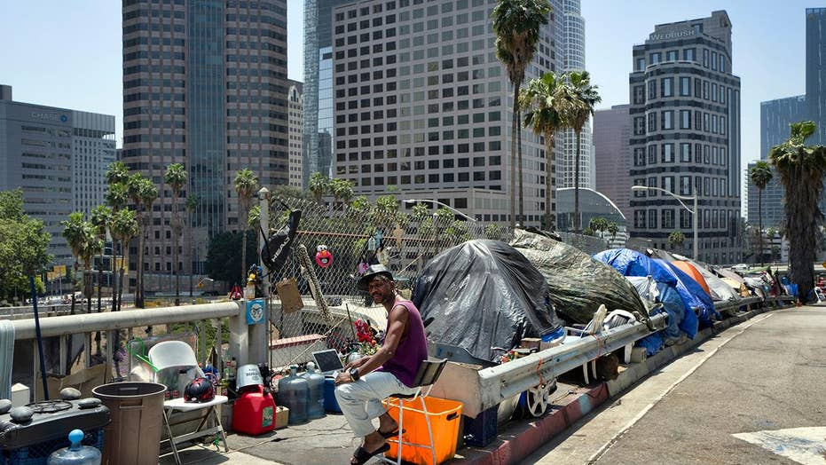 Homelessness surges in Los Angeles despite increase in spending to combat it