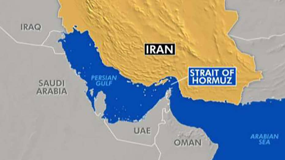 US Navy drone shot down by Iranian missile over Strait of Hormuz