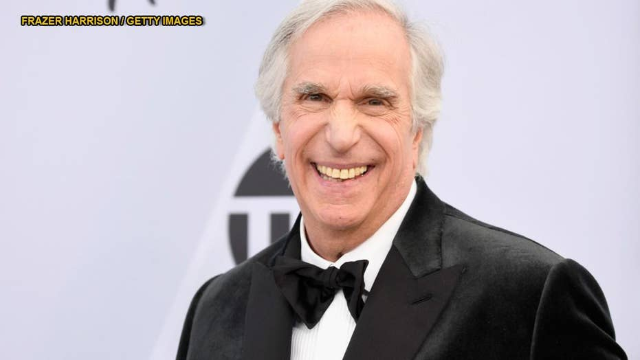 Happy days abound for Henry Winkler