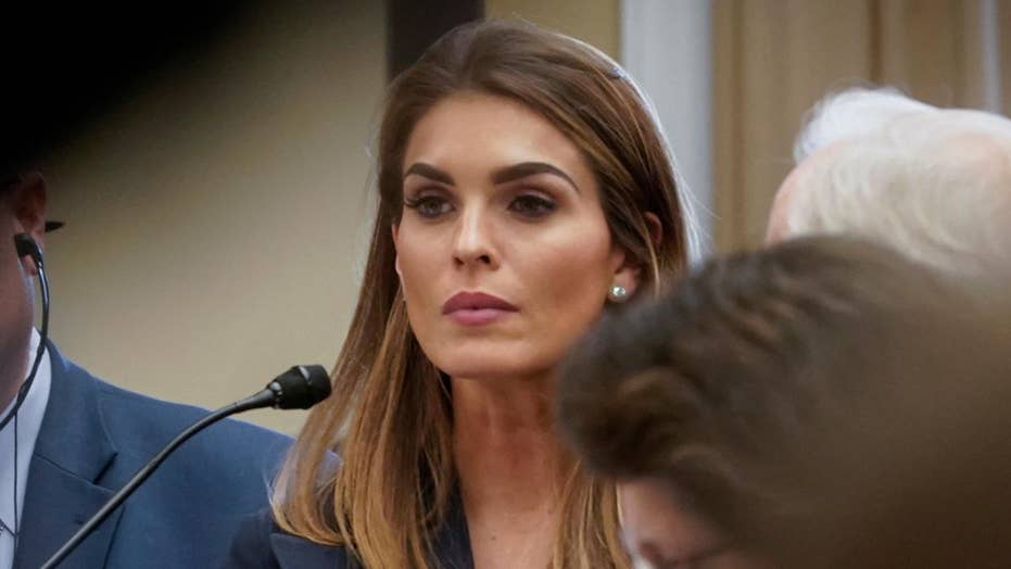 House Democrats slam Hope Hicks for refusing to answer questions during closed-door testimony