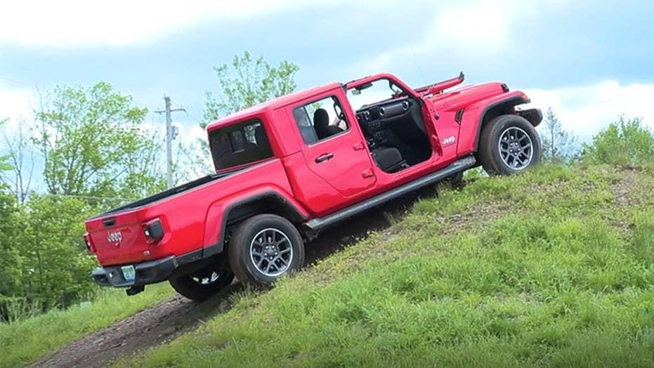 2020 Jeep Gladiator Test Drive