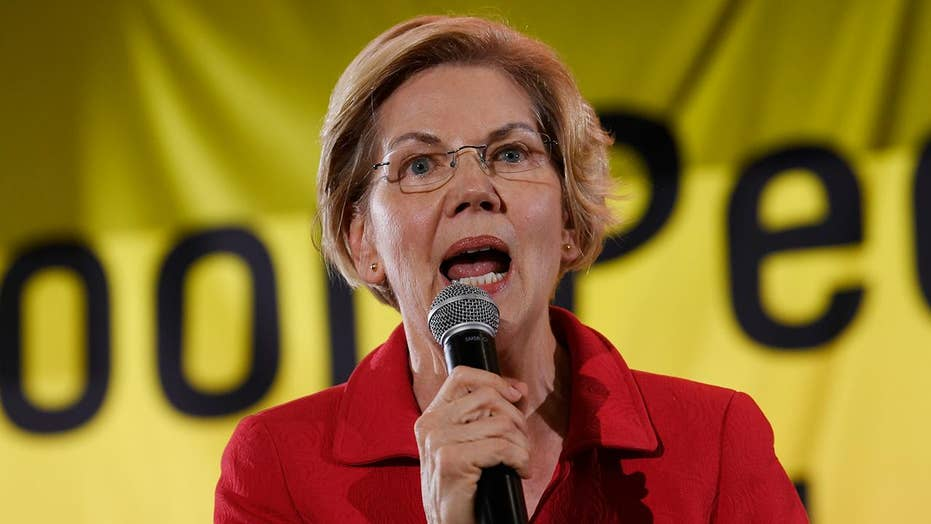 Elizabeth Warren beats Bernie Sander in progressive New Hampshire straw poll