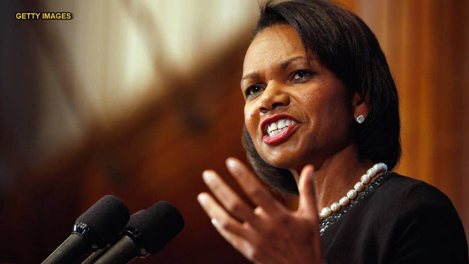 Condoleezza Rice dismisses NBC reporter's claim that racism is worse under Trump