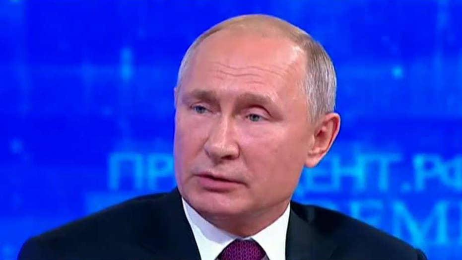 پرزیدنت پوتین برنامه سالانه فراخوان برای شهروندان روسیه را برگزار می کند