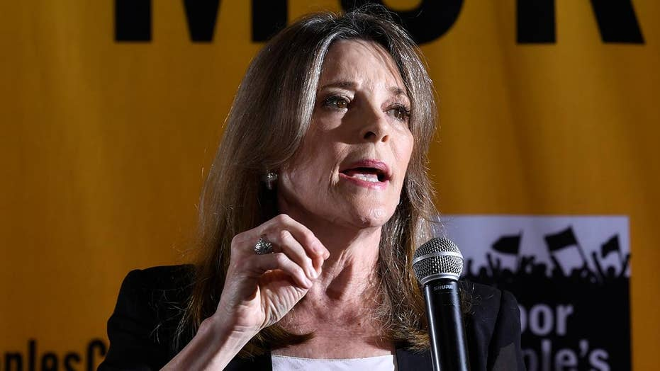 Democratic presidential claimant Marianne Williamson compares immigration raids to Nazi Germany