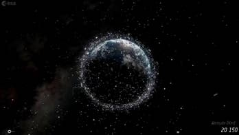 Scientists say space debris is creating a cloud around the Earth and it's causing cosmic chaos