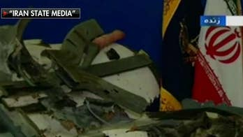 an releases images of what it claims are remnants of downed US drone