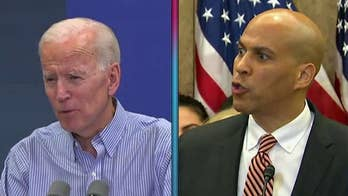 Booker dodges question about spokesperson's Biden 'senate judiciary hearing' tweet