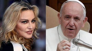 Madonna wants a sitdown with Pope Francis to discuss Jesus and abortion