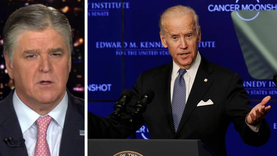Hannity: Biden doing non-stop damage control