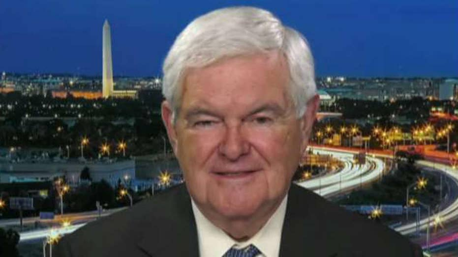 Gingrich: Democrats have become an anti-American party