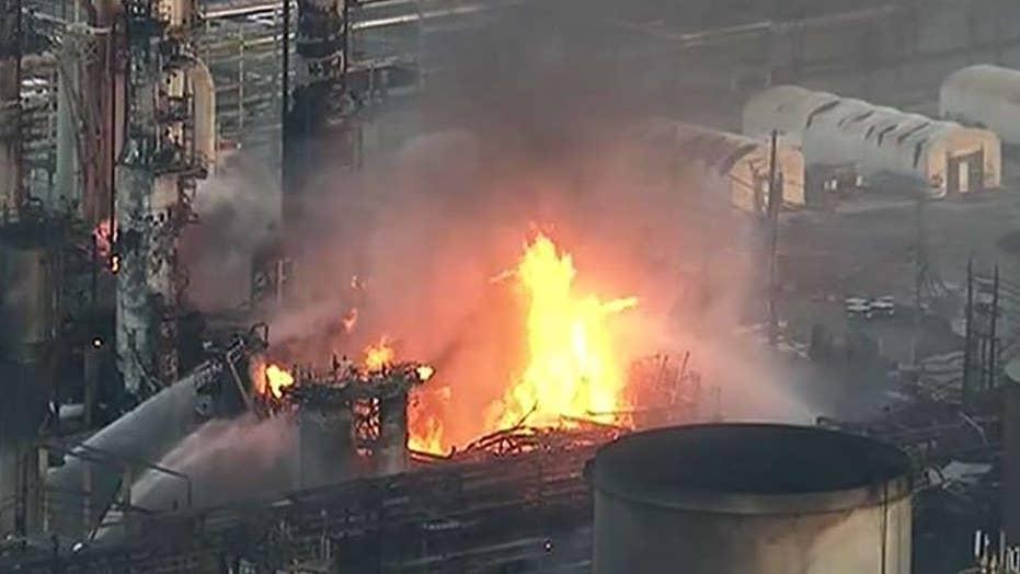 Massive explosion rocks 150-year-old oil refinery in Philadelphia