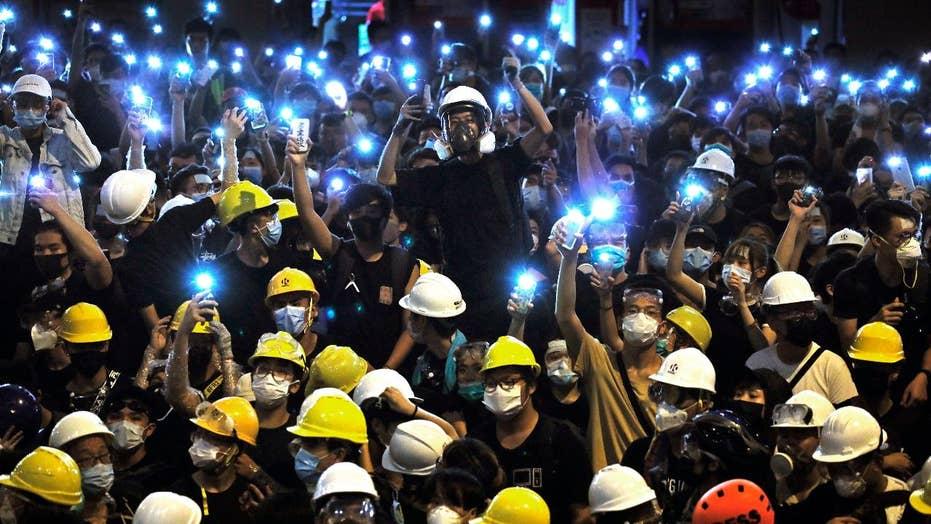 Hong Kong protestors press pro-democracy demands