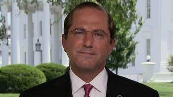 Secretary Alex Azar blasts 'outrageous' verbiage critics are using to describe migrant detention facilities