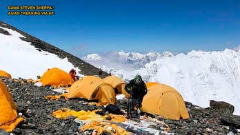 Staggering amount of human waste found on Mount Everest's slopes