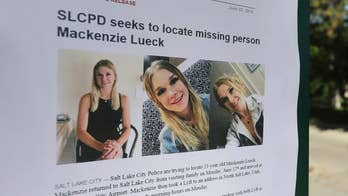 Salt Lake City police brief the press on the search for twenty-three-year-old MacKenzie Lueck