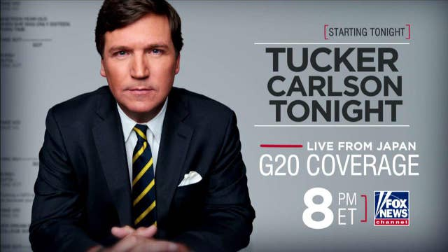 'Tucker Carlson Tonight' broadcasting from Japan for G20 summit