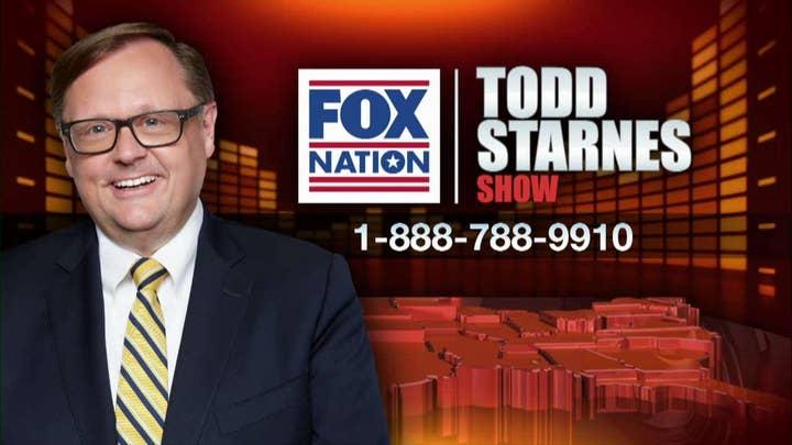 Todd Starnes and Lara Trump