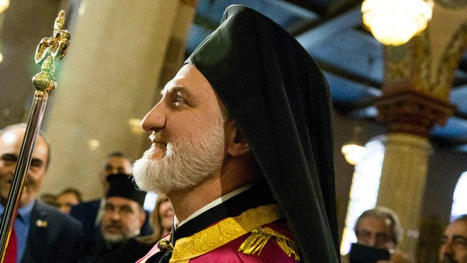 US Greek Orthodox Church gets first new leader in 20 years