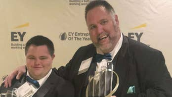 John's Crazy Socks co-founder becomes first person with down syndrome to win EY Entrepreneur of the Year award