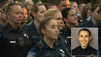 Community says goodbye to young Sacramento police officer killed in the line of duty