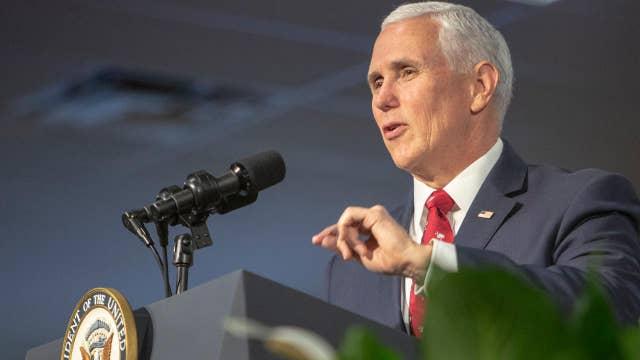 Vice President Pence, Democratic 2020 hopefuls campaign in Florida ahead of Democratic presidential debate
