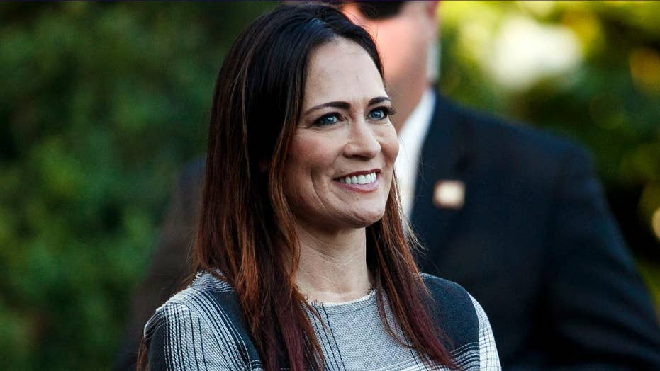 Melania Trump tweets spokeswoman Stephanie Grisham will be next White House press secretary