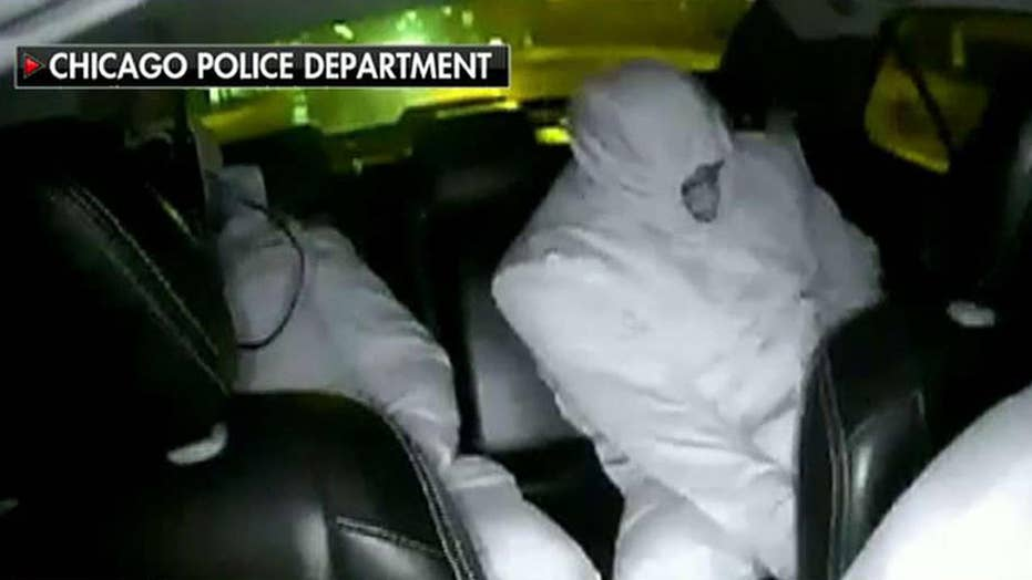 Cab video shows Osundairo brothers wearing hazmat suits on night of alleged attack on Jussie Smollett