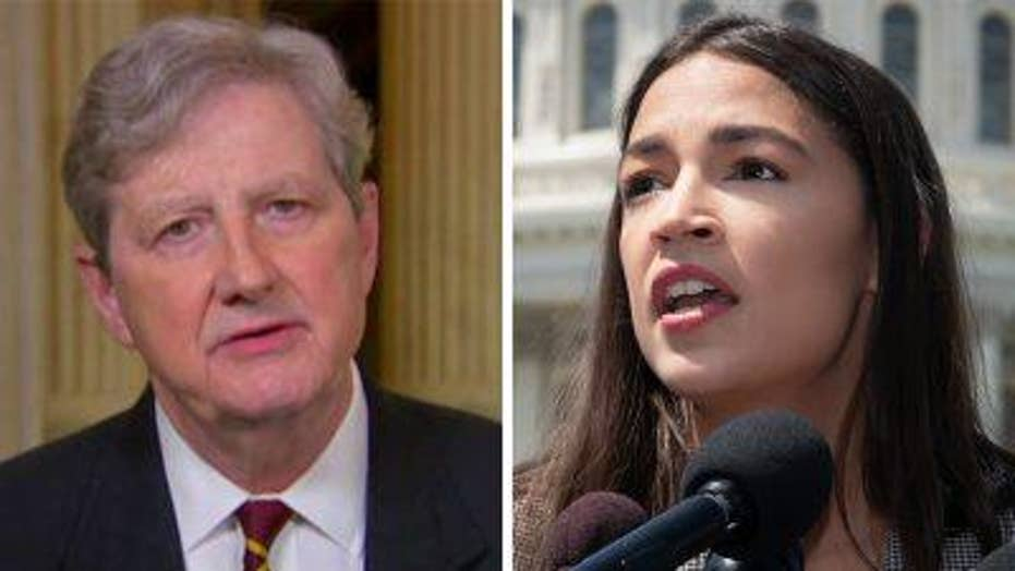John Kennedy on AOC, border crisis