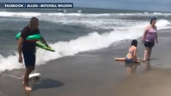 Off-duty sheriff captain saves girl in distress at beach in North Carolina