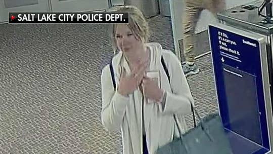 Police release photos of Utah student Mackenzie Lueck at the airport prior to her disappearance