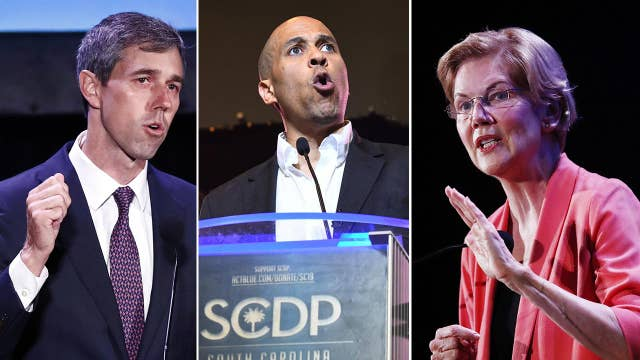 Democrats in bottom debate tier have opportunity to take free shots at Biden