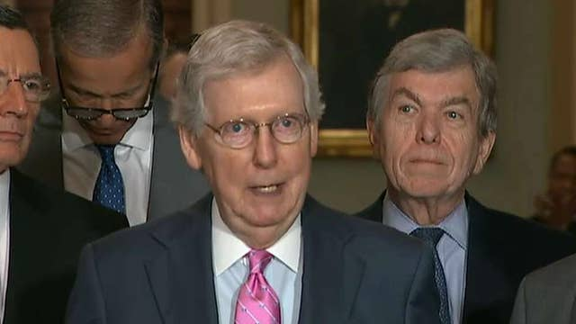 McConnell expresses frustration with Senate delay on border funding bill