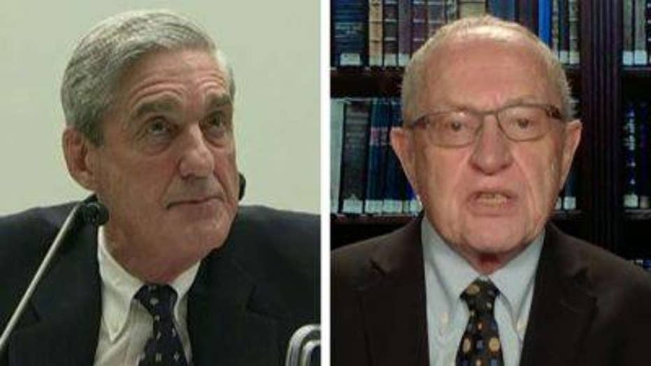 Alan Dershowitz on Mueller agreeing to testify